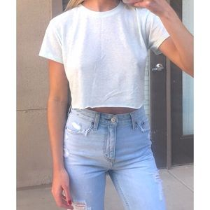 Billabong cut off crop tee